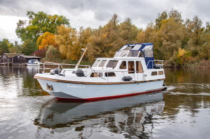 Yachturlaub an der Havel: Rogger 950 AK - Seahorse 6