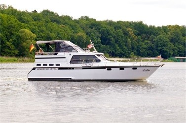 Motoryacht Mecklenburger Seenplatte chartern - Ariba - Success 1150 Ultra