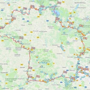 Berlin-Elbe-Müritz Tour