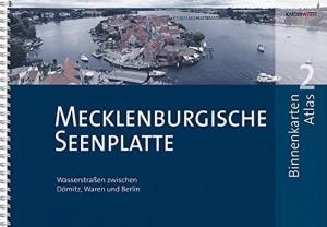 Gewässerkarten: Binnenkarten Atlas Mecklenburgische Seenplatte