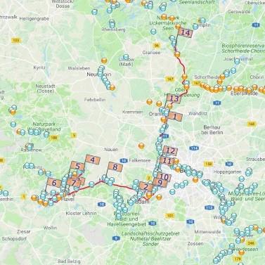 Brandenburg, Potsdamer Havel und Wannsee