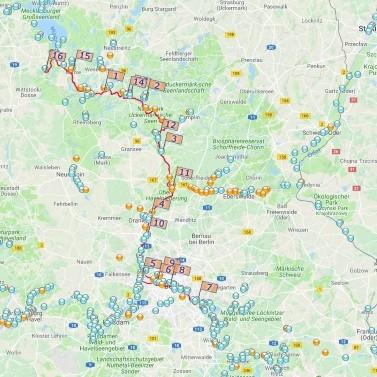 Von Buchholz nach Berlin und zurück
