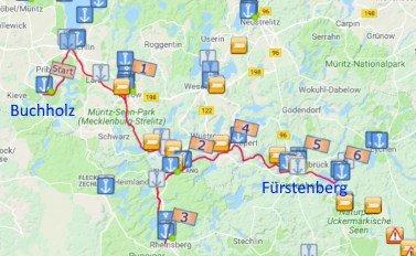Buchholz - Fürstenberg: spannende One-Way-Touren