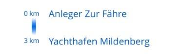Buchholz - Mildenberg Tag 7, Anleger Zur Fähre bis Yachthafen Mildenberg