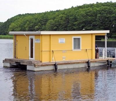 Bunbo Hausboot Erna H. Aussen