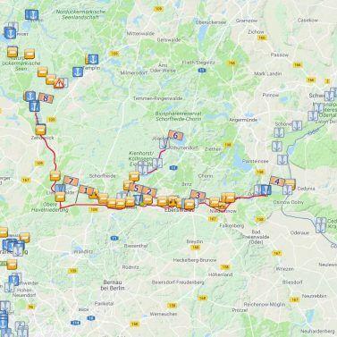 Historischer Finowkanal und Werbellinsee
