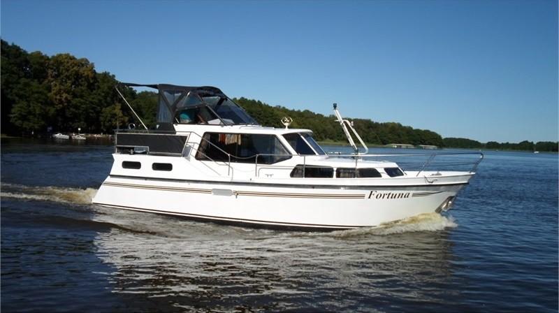 Motoryacht Mecklenburger Seenplatte mieten - Boarncruiser 1000 S - Fortuna