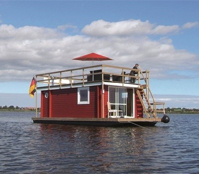 Hausboot Tante Frieda Riverlodge Sundeck 400