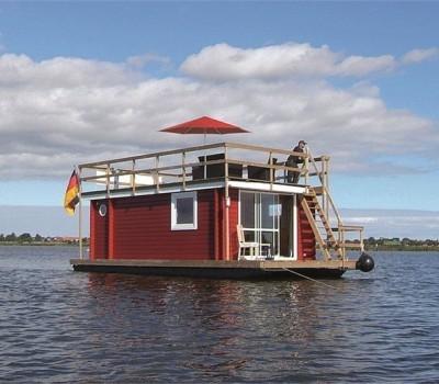 Hausboot Tante Frieda Riverlodge Sundeck 400