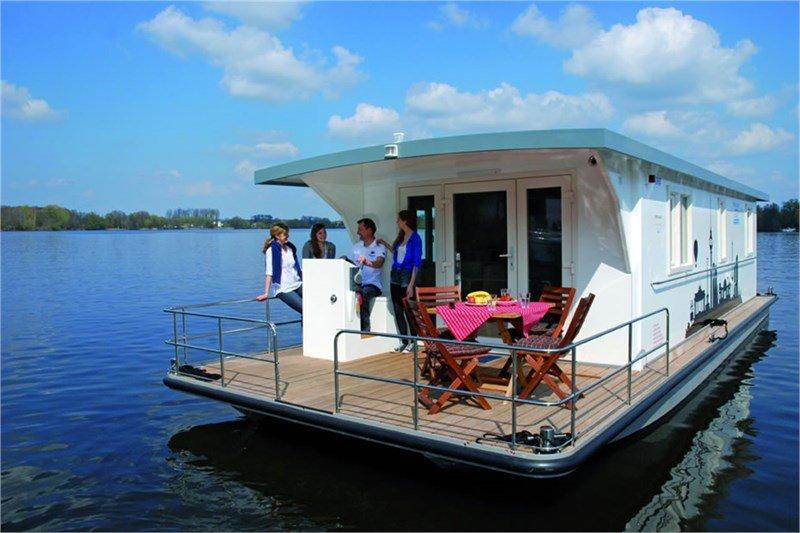 Hausboot mieten an der Havel: Heike G. - Riverlodge H2Home