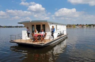 Hausboot mieten an der Havel: Heike G. - Riverlodge H2Home