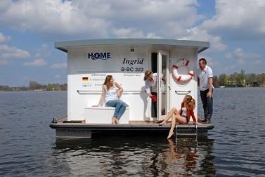 Hausboot Müritz mieten mit YCR - Riverlodge H2Home Ingrid