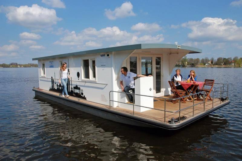 Hausbootferien an der Müritz: Jutta - Riverlodge H2Home