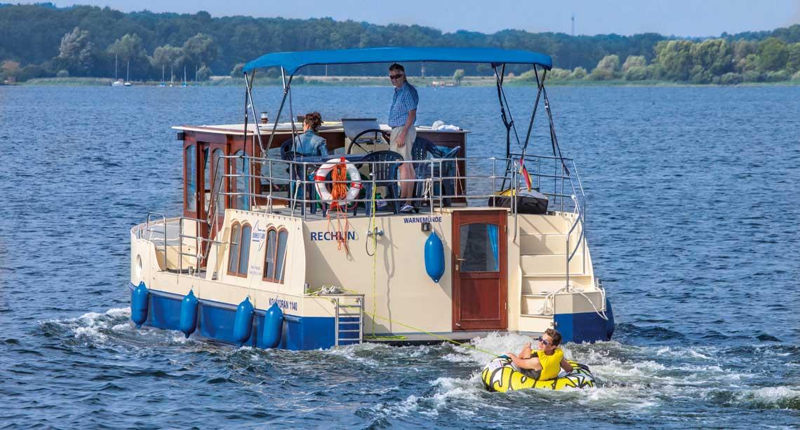 Hausboot für bis zu 9 Personen - Advanced Kormoran 1150 & 1290