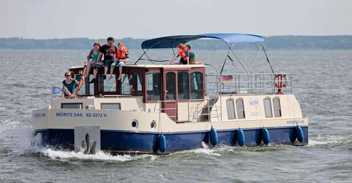 Hausbootferien Seenplatte: Primus Kormoran