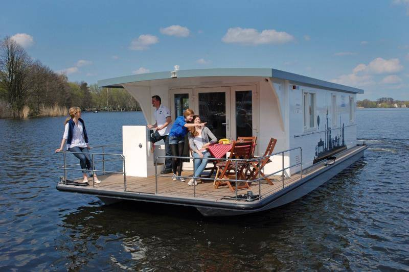 Hausboot in Mecklenburg mieten: Marleen K. - Riverlodge H2Home