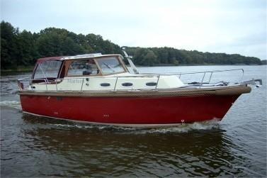 Komfortable Yacht mieten an der Müritz - Passion Sun 850 AK - Marleen