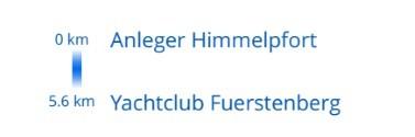 Mildenberg - Buchholz Tag 2: Himmelpfort bis Fürstenberg