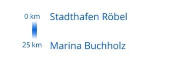 Mildenberg- Buchholz Tag 7, Röbel/Müritz bis Buchholz
