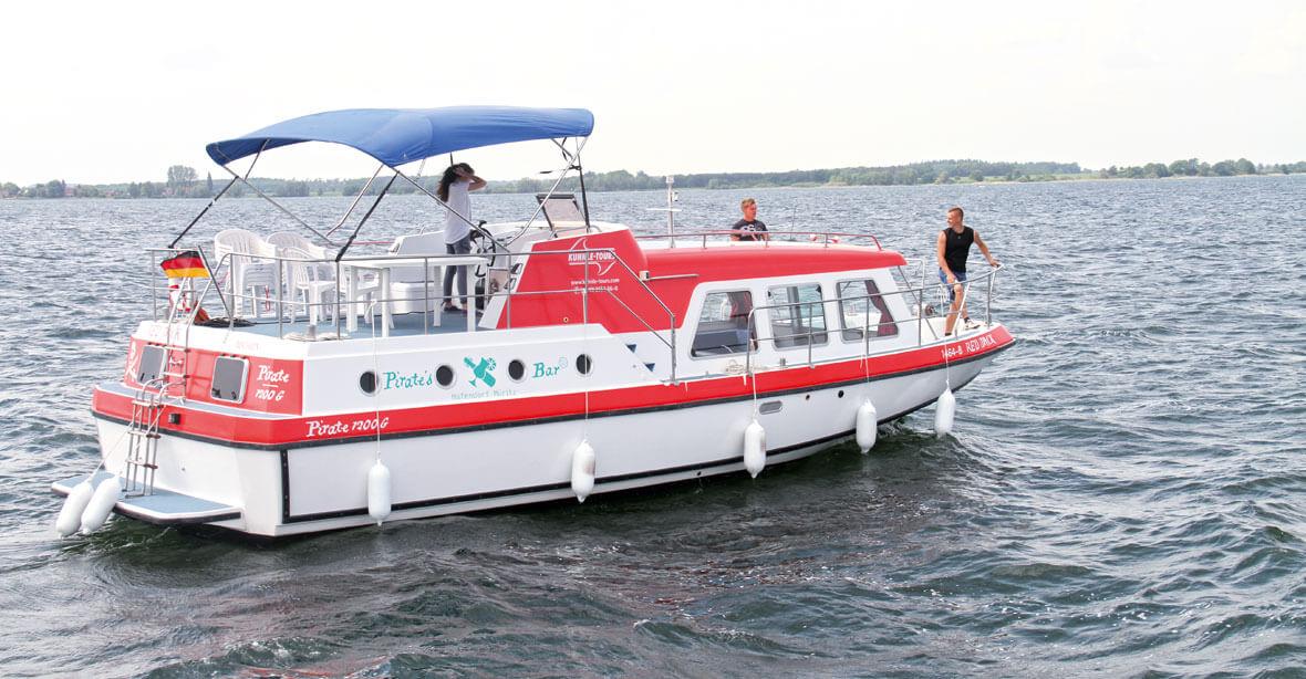 Hausboot für große Crews: Pirate 1200 G