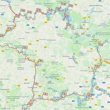 Potsdam, Brandenburg und Havelberg