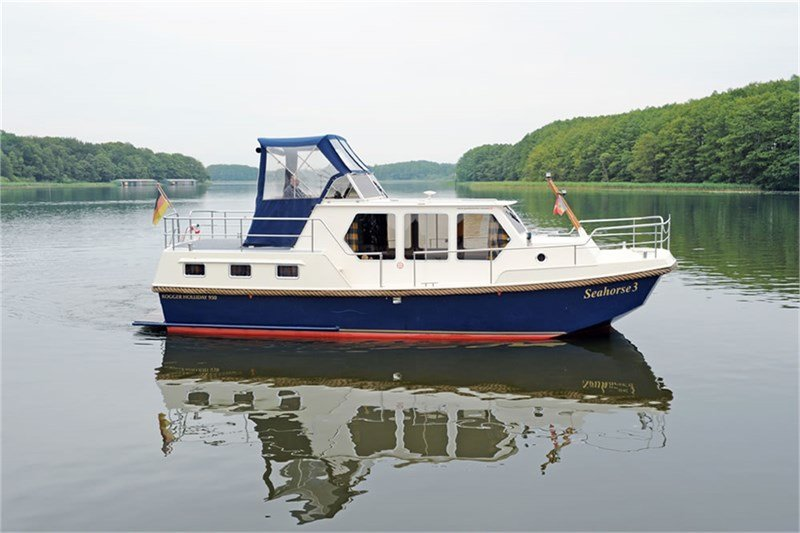 Motoryacht Mecklenburger Seenplatte chartern - Rogger Holiday 950 - Seahorse 3