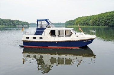 Yacht chartern an der Müritz in MV: Seahorse 3 - Rogger Holiday 950