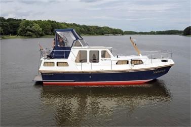Yachturlaub an der Mecklenburgischen Seenplatte: Seahorse 6 - Rogger 950 AK