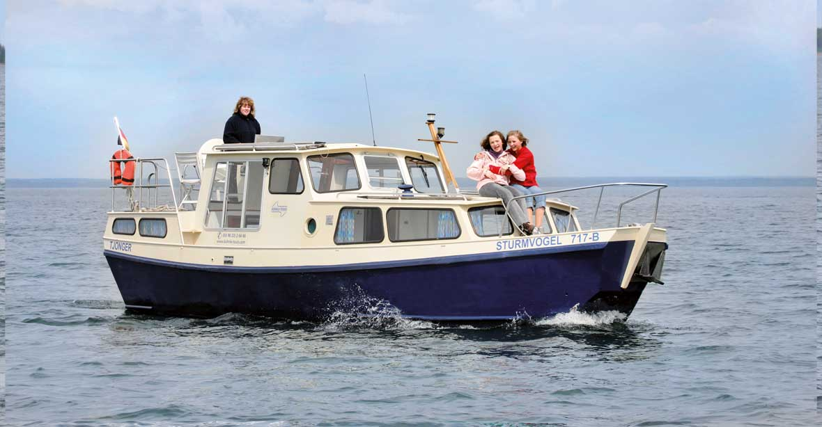 Hausboot günstig mieten: Tjonger, Galle, Kuinder, Welle & Bellus