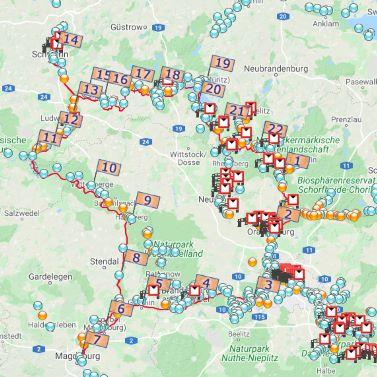 Große Runde: Postdam, Brandenburg, Havelberg