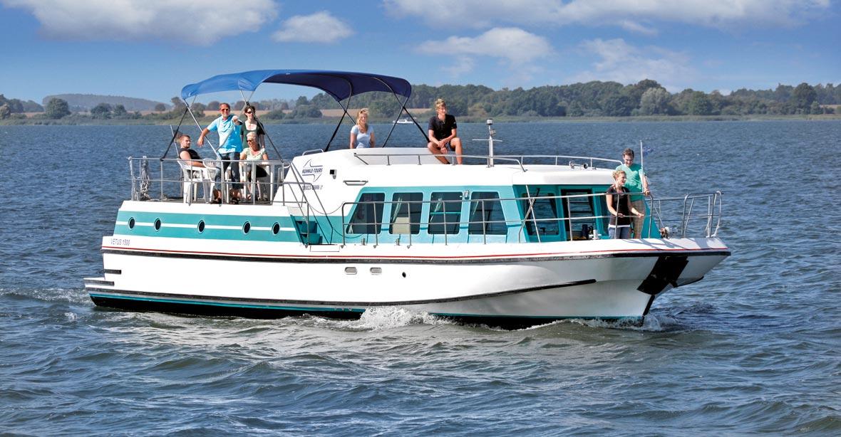 Hausboot für Familien: Vetus 900, 915, 1000 und 1500