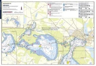 Wassersportbuch: Kartenmaterial, Hafenführer und Törnplaner