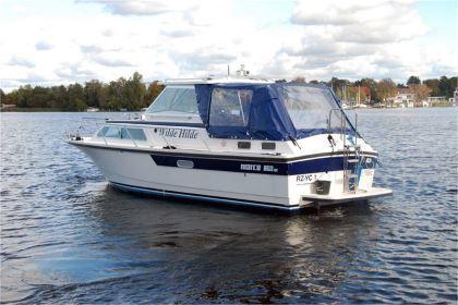 Motorboot chartern Mecklenburger Seenplatte: Wilde Hilde - Marco 860 AK